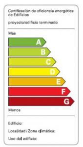 Certificacion de eficiencia energética de Edificios