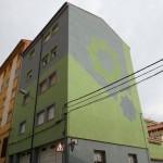 Diseño de la fachada terminado