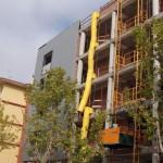 inicio fachada aluminio con aislante incorporado