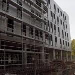terminación fachada aluminio con aislante incorporado