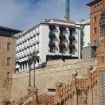 Fachada del Hotel Reina Cristina después de la rehabilitación