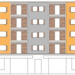 Diseño de la fachada principal