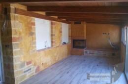 Tematización terraza – Creación de piedras y estuco de yeso coloreado
