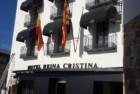 Rehabilitación con mortero en color blanco hidrofugado y mortero gris del Hotel Reina Cristina (Teruel) conservando todo su Patrimonio Histórico